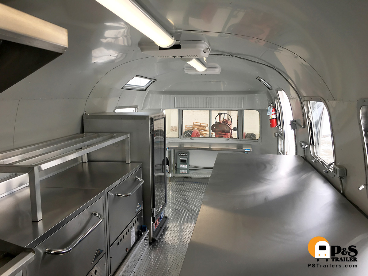 Completed Airstream Food Truck Kitchen Small Pic